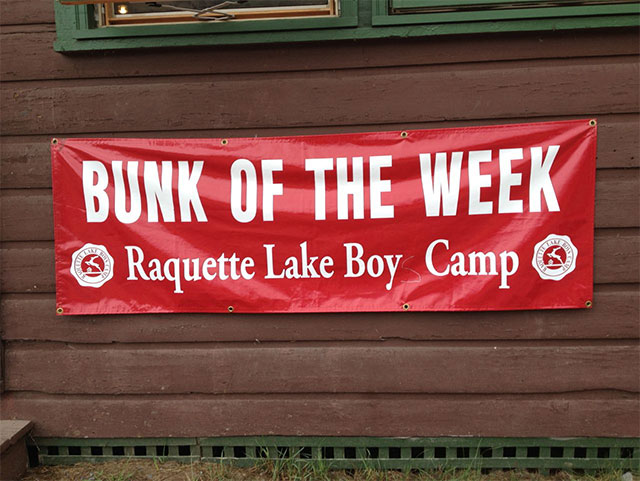 A bunk was awarden the Bunk of the Week for being responsible