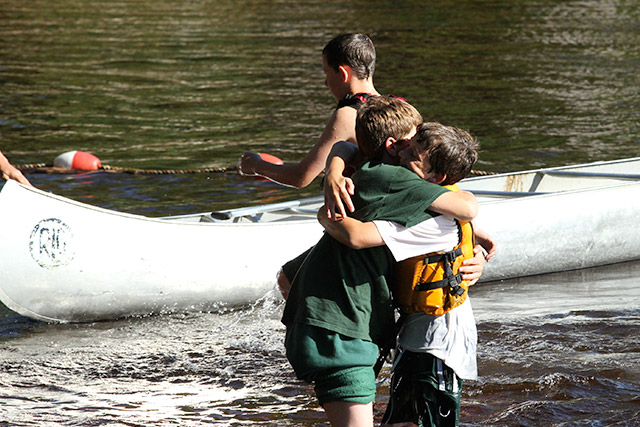 The return from the Saranac Trip brings hugs and joy