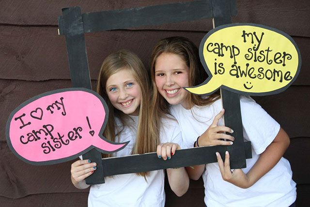 My camp sister is awesome