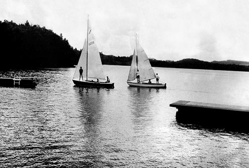 1920s Boys Sailing