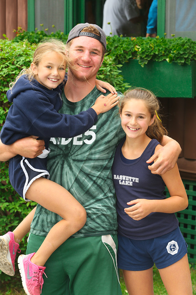 A Raquette Lake for Boys staff member and his sisters